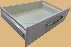 Modern soft closing slide the drawer with square bar