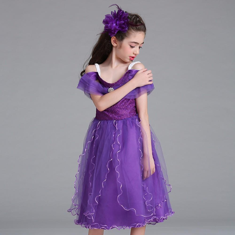 2017 Hot Selling Girl\'s Party Dress Flower Lace Girl Dress Children ...