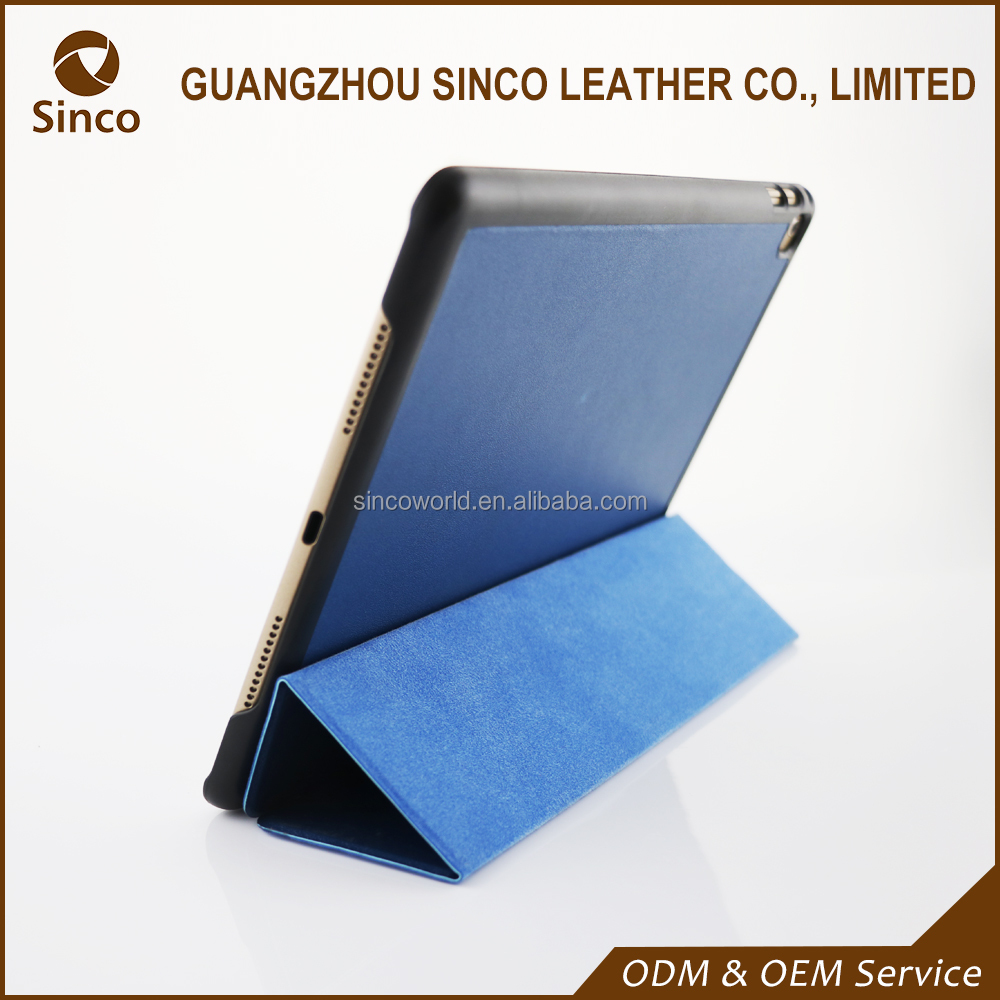 China supplier ultra thin flip leather case for iPad mini Retina