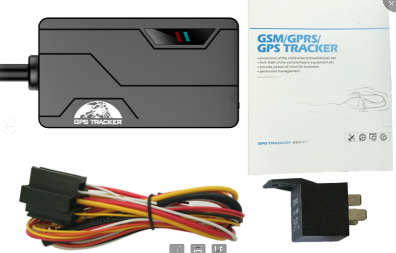 Very small coban 311b gps tracking device with free web platform and applications