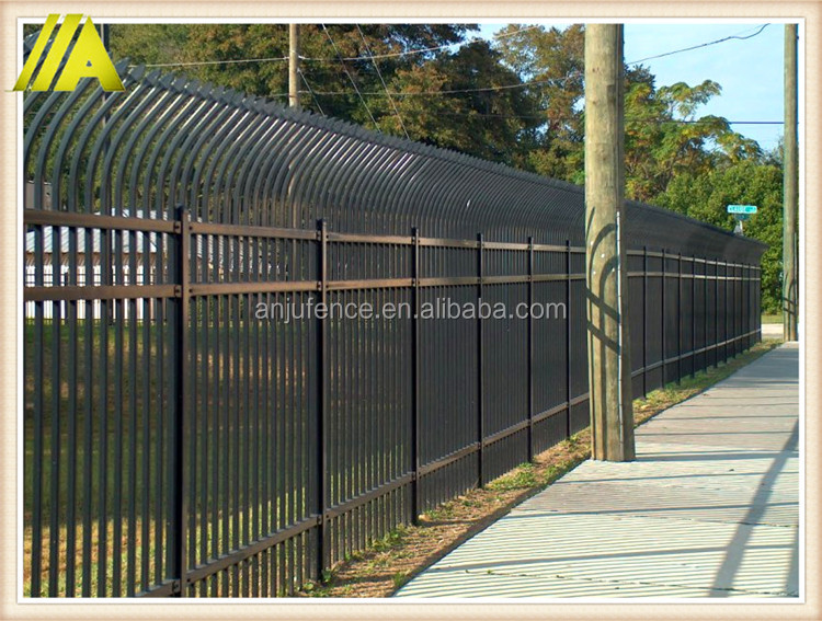 steel fence-060 classical and beauty durable fence installation