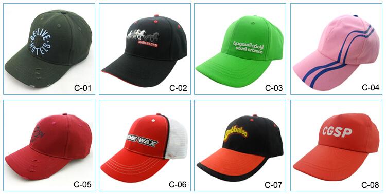 3D thêu biểu tượng mũ bóng chày mũ thời trang, mũ nhà máy mặt cap
