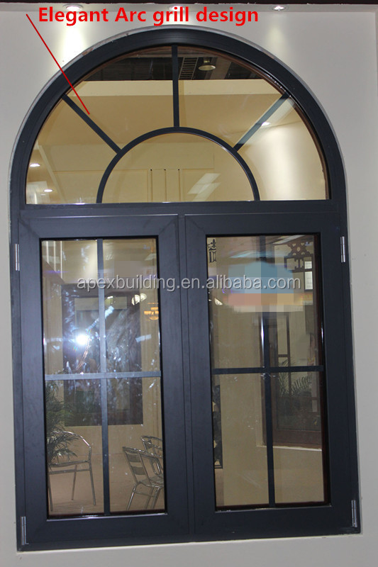 Dise 241 O Del Arco Ventana Abatible De Aluminio Puerta