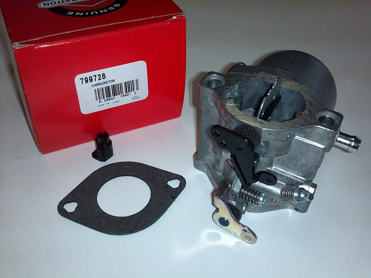 Briggs & Stratton 799728 CARBURETOR OEM CARB ,,from# mowandsnow ,ket122351564410700