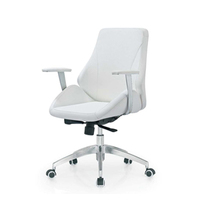 Good price Art design leather executive office chair with PU leather