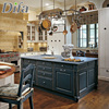 Custom Made Island Design Kitchen Cabinet,Custom Made Kitchen Cabinetry,Double Color Kitchen Cabinets