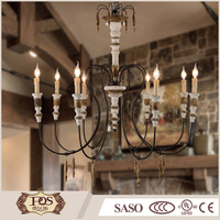 latest design wood carving cap wrought iron do old lamp arm chandelier lamp