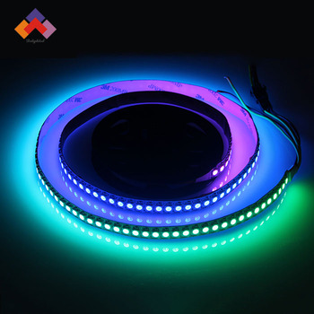 144 led 5050 smd white pcb ws2812 individually addressable rgb led 144 led 5050 smd white pcb ws2812 individually addressable rgb led light strip waterproof aloadofball Gallery