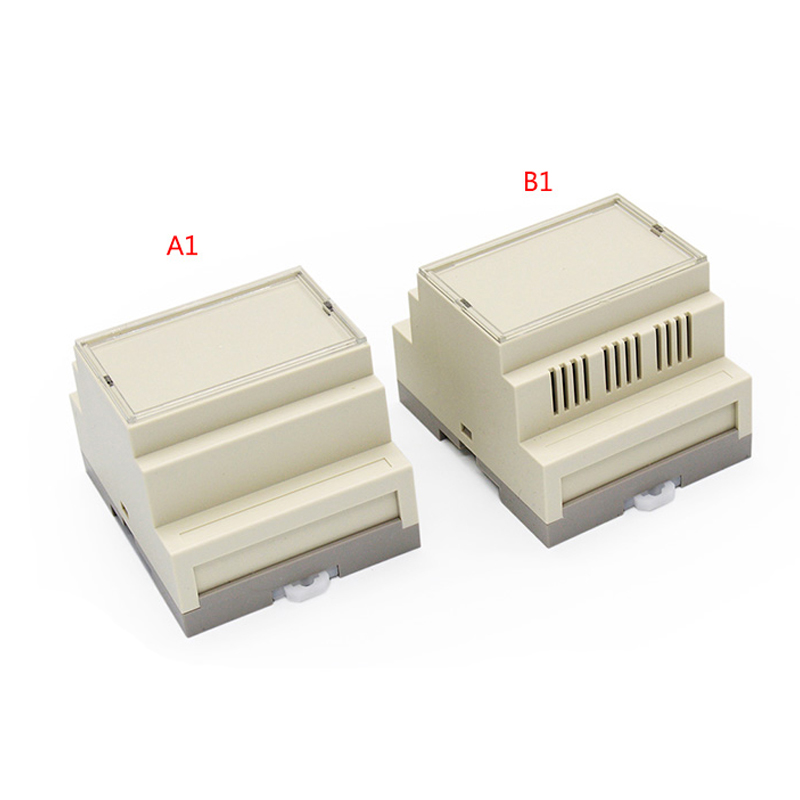 Plastic china plastic housing for power supply din rail case