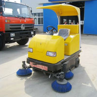 Efficient and Energy Saving Industrial Electric Road Floor Sweeper