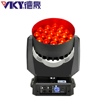 10W x 24pcs RGBW 4in1 zoom mac aura /martin aura led moving head light for sale