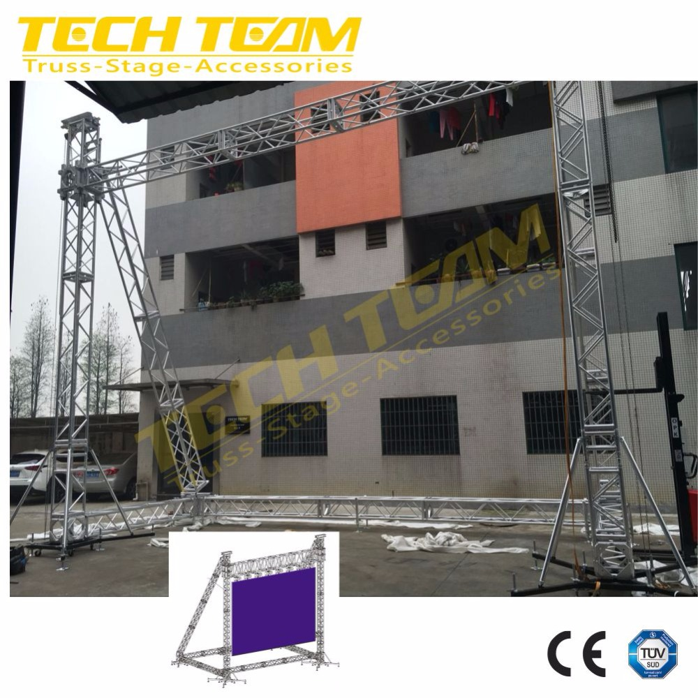 Led Screen Hanging TrussLed Display TrussStage Lighting Truss From Trussing China