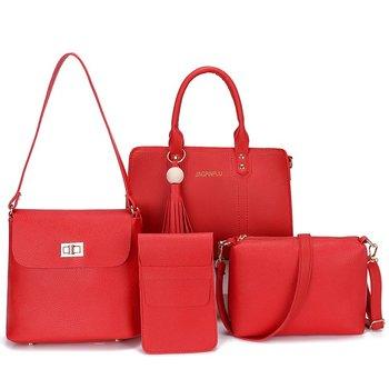Fashion Cheap Price Lady Handbag Women Bag sets PU Handbags 4 Pcs in 1 Set aa11be2ef00e4