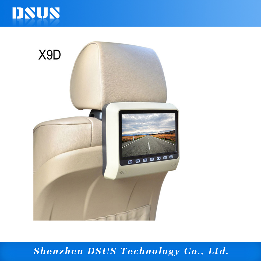 factory price 9 inch car DVD player for car audio/portable dvd player for car with FM USB IR