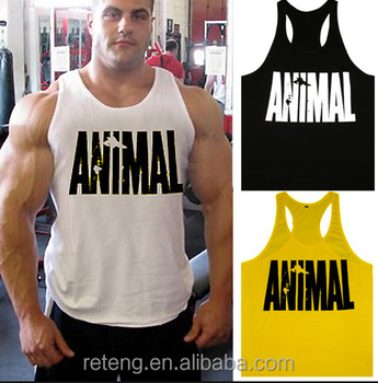 dc749e382ef126 custom mens T   Y Back Bodybuilding Singlet   Stringer   gym Singlet   printed GYM