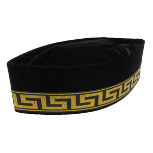 New Arrival Wedding Islamic Prayer Embroidery Men Muslim Cap