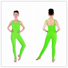 MT00897 En Gros Ballet Adulte Lycra Brillant Vert Lime Camisole <span class=keywords><strong>Danse</strong></span> Justaucorps