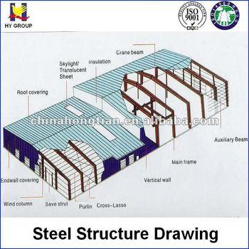 Prefabricated Warehouse Layout Design Buy Warehouse