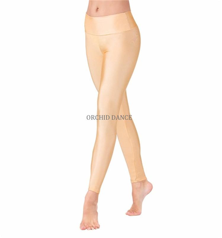 Wholesale Shiny Lycra High Waist Custom Women Fitness Leggings Gym
