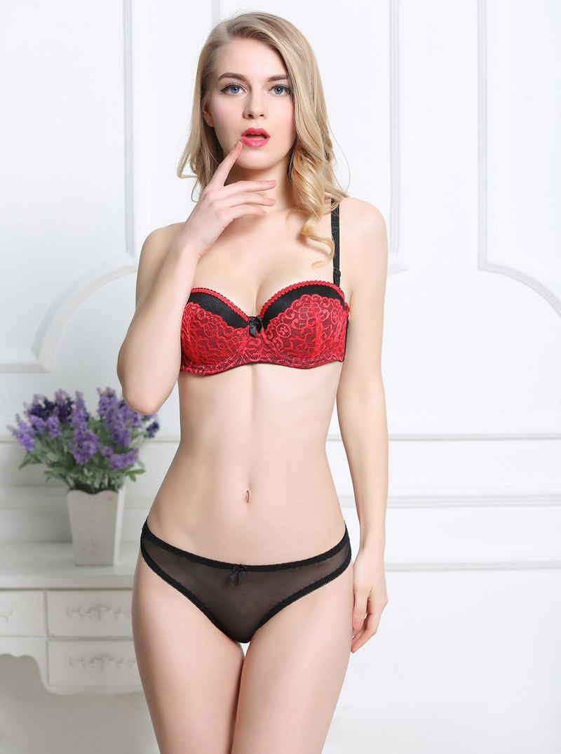 45010e92ac436 Lovely Hot Sexy Girl Underwear Mature Ladies Lace Bra And Panties ...