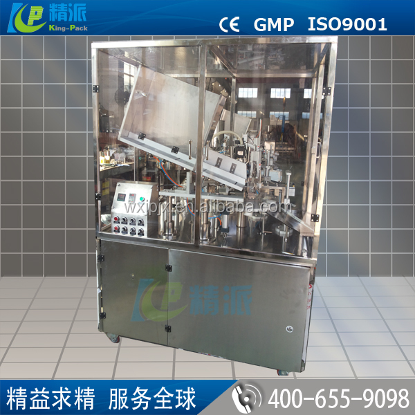 Factory sale automatic plastic tube filling and sealing machine for daily chemical