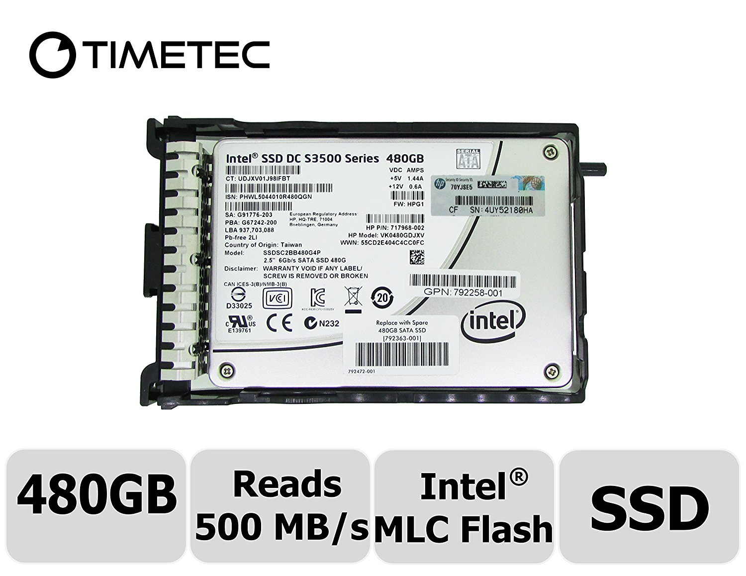 "Intel SSDSC2BB120G401 Solid-State Drive DC S3500 Series 120 GB internal 2.5/""6Gb"