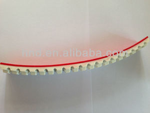 ATK10 ADD RED GUM PU Industry timing belt/flat transmission belt