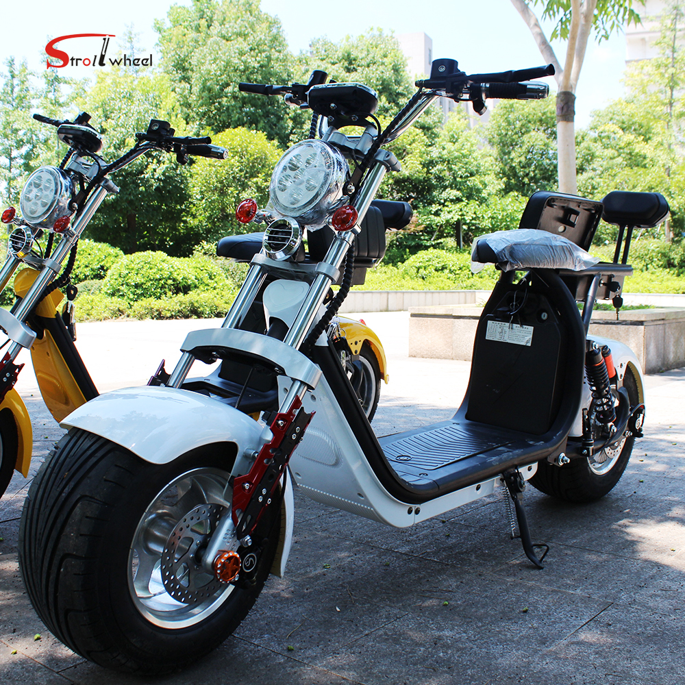 New model citycoco 3000w 60v carbon fiber electric scooter citycoco sticker for bike