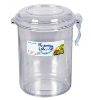 Hygienic Large Transparent Clear Plastic Airtight Food Storage