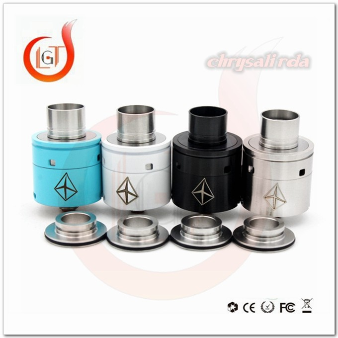 Best Seller Adjustable side airflow succubus rda vape new mod 2015 teapot rda pk Chrysalis RDA wholesale