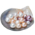 Button Pearl, Freshwater Pearls AAA, half drilled pearls