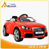 Audi TTS Coupe Roadster Battery Dual Motor Powered Bluetooth RC Ride-on Car