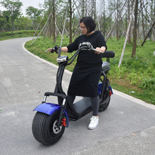 2018 fashion police use 19 inch fat tire two wheel electric chariot covered electric scooter