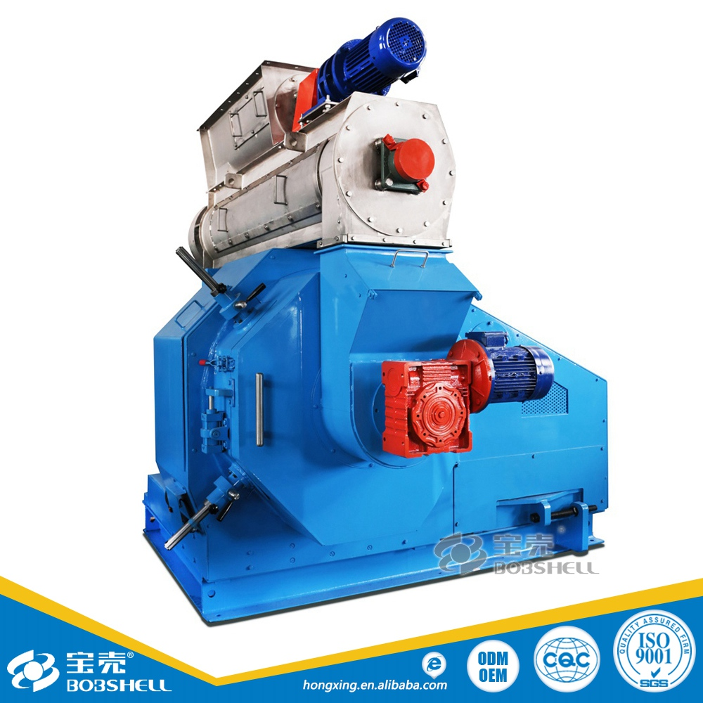 Sawdust Ring Die Pellet Maker Fiber Pellet Machine