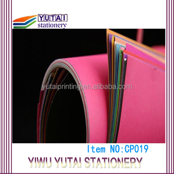Decorative coloured paper,cardboard paper sheets