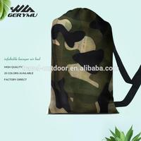 New Products 2017 Camouflage Inflatable Sofa Nylon Air lounger Beds lay bag Camping Sleeping Lazy Bag
