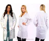 Unisex Men/Women Medical Doctor Nursing Long White Lab Coat XS-3XL