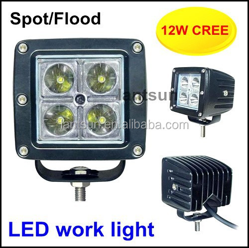 LED Lamp Type and Headlight Type 12W light led chips 3w/led *4leds
