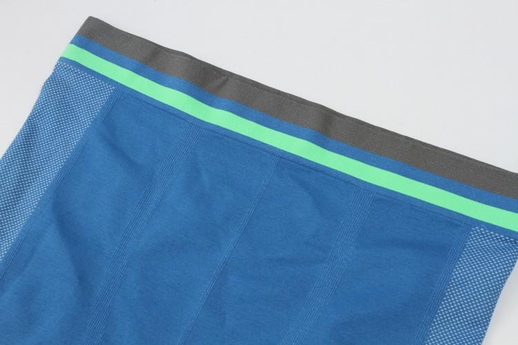 Men tight Pants Slim Compression Elastic Gymnastic Bicycling Swimming Pants 15
