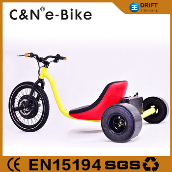 motorized 3 wheel colorful frame drift trike for sale 48v 1500w - Drift Trike Frame