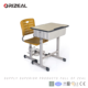 2017 New Design School Desk and Chair used school desk chairs for sale