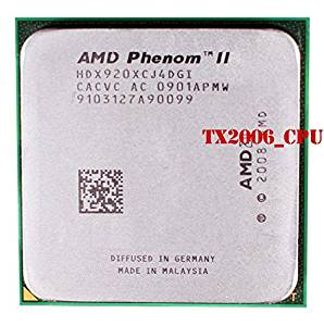 2.6GHZ 4MB 65NM 125W 3600MHZ TRAY AMD HD995ZXAJ4BGH PHENOM X4 9950 BLACK AM2
