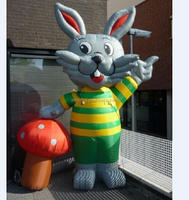 2015 promotion inflatable rabbit/inflatable animal/inflatable cartoon for sale H3127
