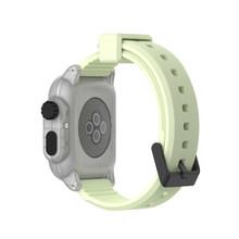 Водонепроницаемый ударопрочный чехол для Apple Watch series 3 2, мягкая силиконовая лента, ремешок iwatch 42 мм, аксессуары(Китай)