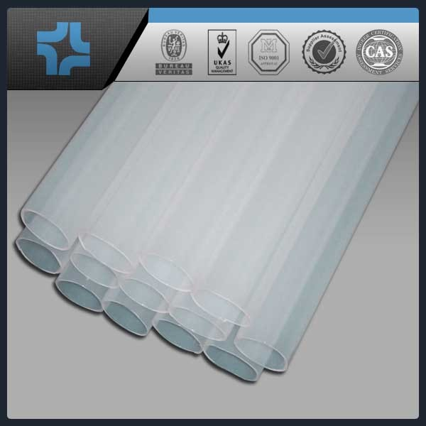 Price of perforated plastic pipe clear transparent fep tube