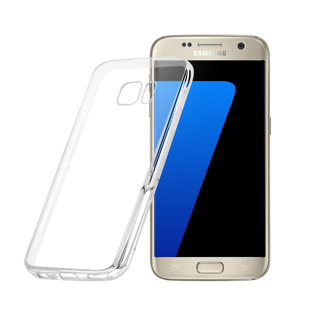 2016 Newest Ultra Thin Crystal Soft TPU Mobile Phone Case for Samsung Galaxy S7