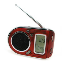 CT-2289 Fashionable Small FM AM SW Multiband World Receiver Radio