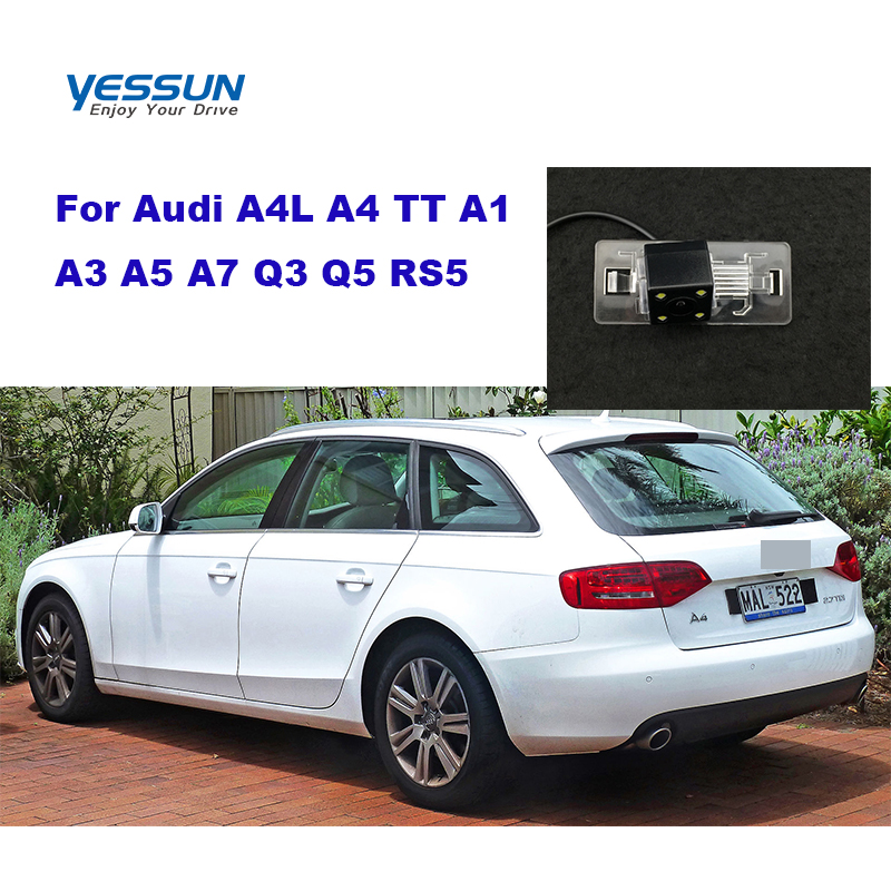 Car Video Vehicle Electronics & Gps Original Dynamic Trajectory Trunk Handle Rearview Camera For Audi A4 A6 A7 Q7 Q5 Rs5 Rs6