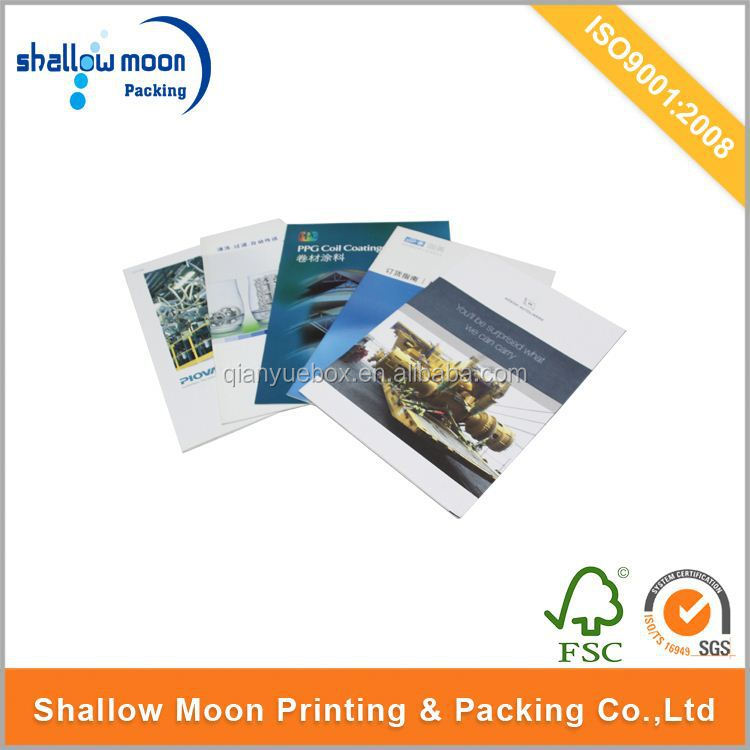 NEW DESIGN CHEAP PROMOTIONAL BOOKLET PRINTING