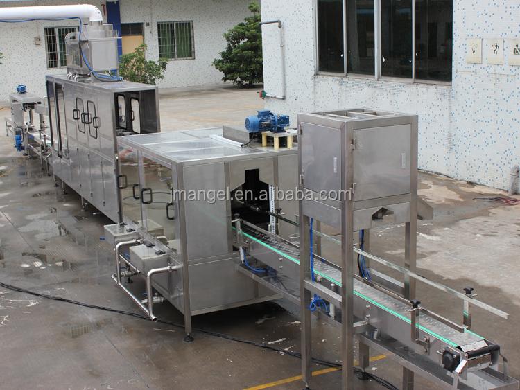 ขายร้อน 3 ใน 1 5 แกลลอน Barrel บรรจุเครื่อง/แร่บรรจุขวดน้ำ 20 ลิตร